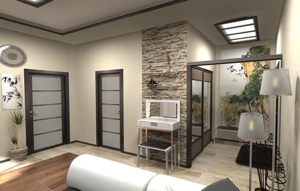 Дизайн интерьера 2-комнатных квартир