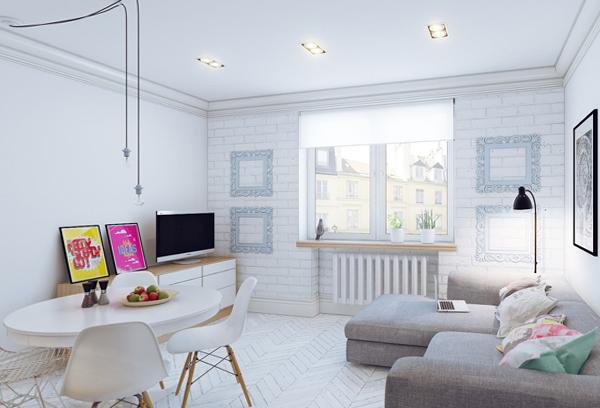 Дизайн квартиры 2017 (скандинавия) – 1