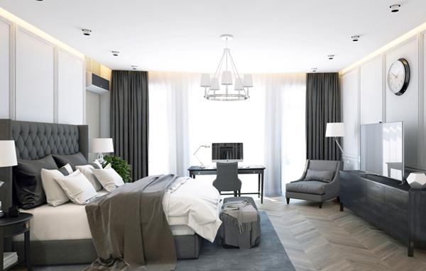 Дизайн квартиры 2017 (спальня) – 3