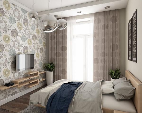 Дизайн квартиры 2017 (спальня) – 4