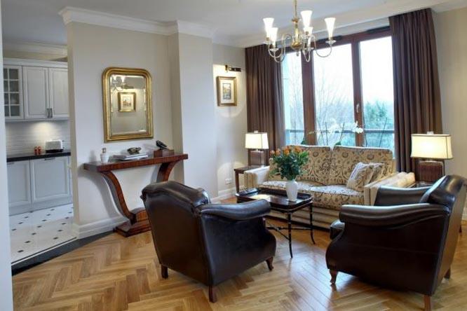 Фото дизайна квартиры-студии в стиле ар деко