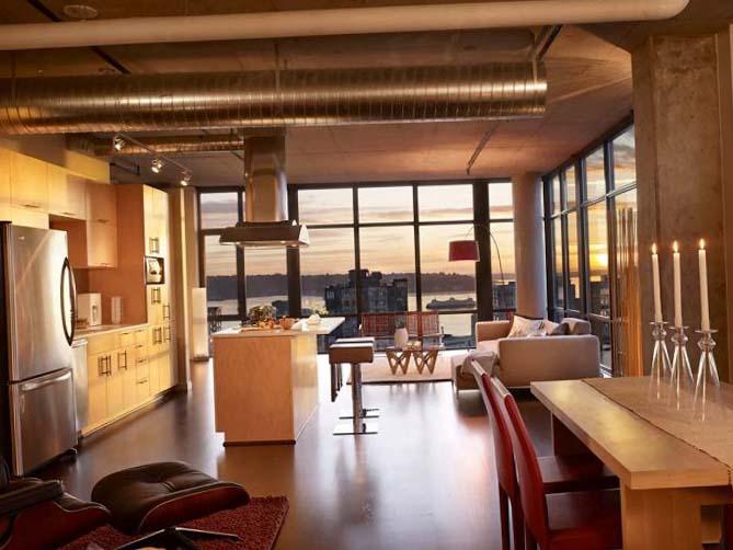 Лофт студии дизайн