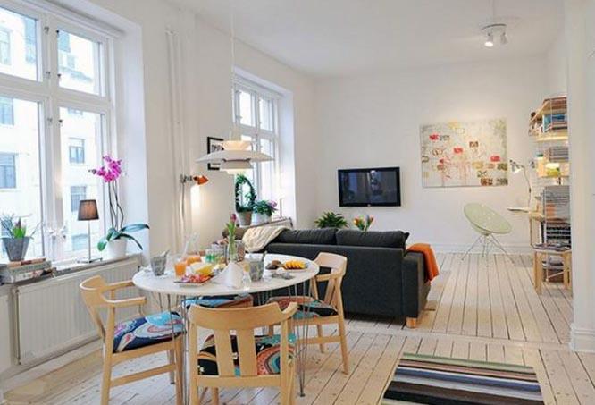 Фото дизайна квартиры студии в стиле лофт