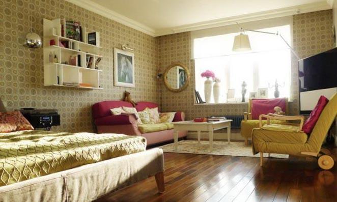 Фото дизайна квартиры студии в стиле прованс