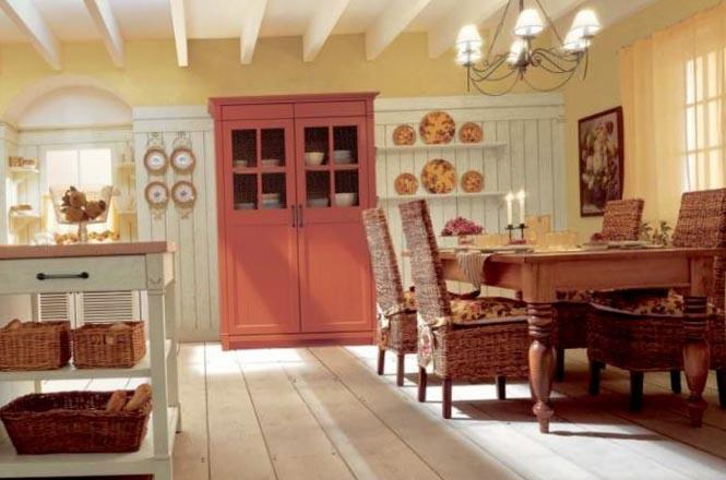 Фото дизайна квартиры-студии в стиле прованс