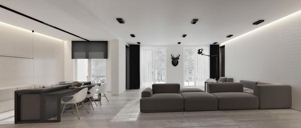 Дизайн квартиры 2017 (темные тона) – 3
