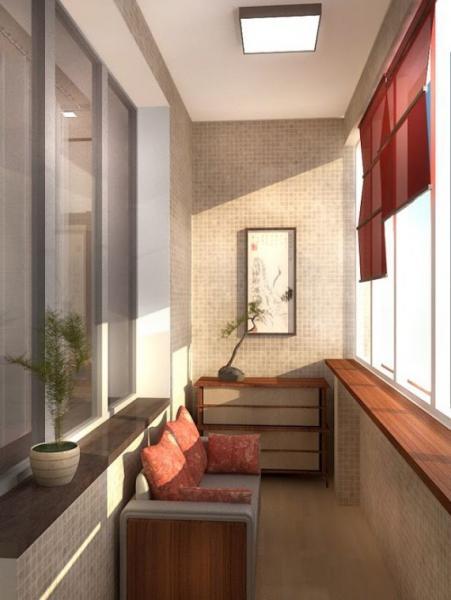 Балкон 2 кв м дизайн