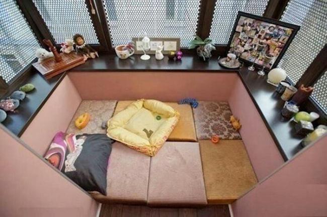 Дизайн лоджии спальня 02