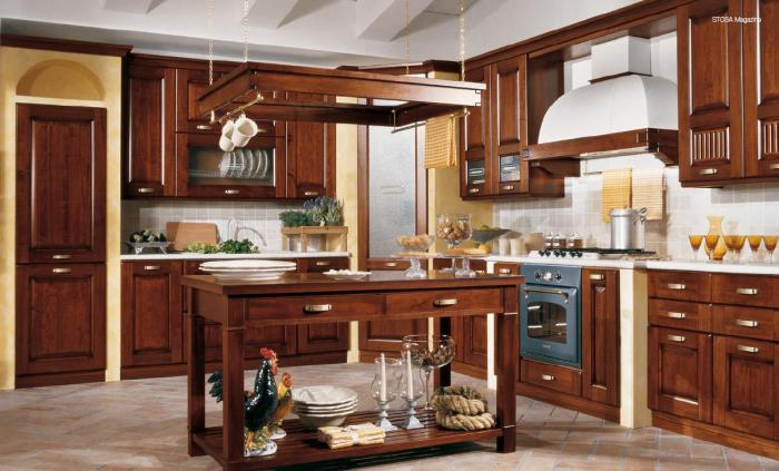 Кухня в классическом стиле 3