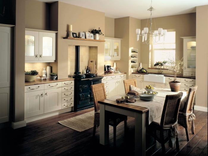 Кухня в классическом стиле 4