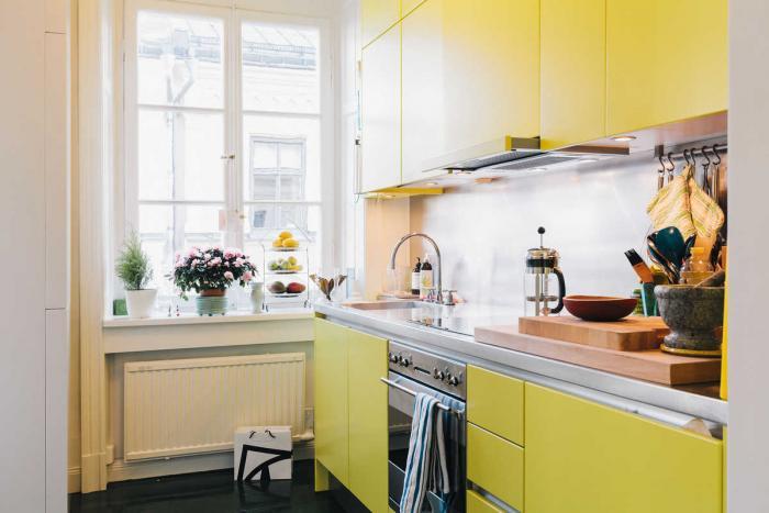 50 - Cucine moderne gialle ...