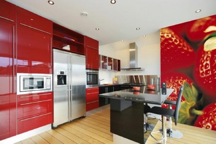 Дизайн обоев для кухни 2