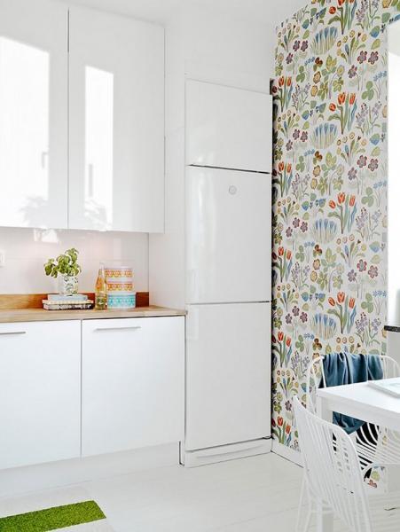 Дизайн обоев для кухни 3