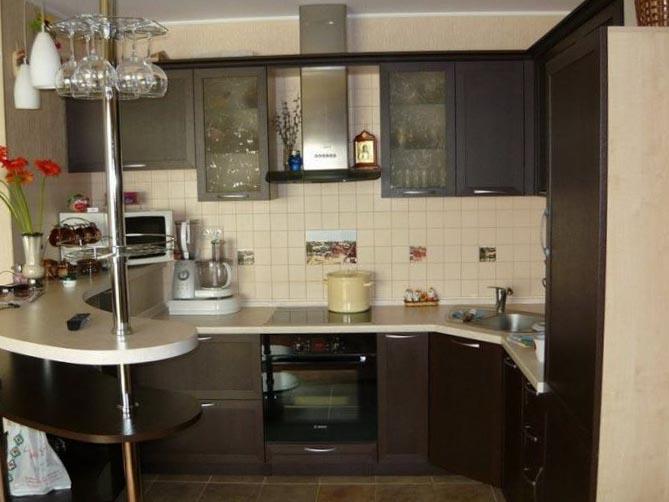 Кухни маленькие интерьер