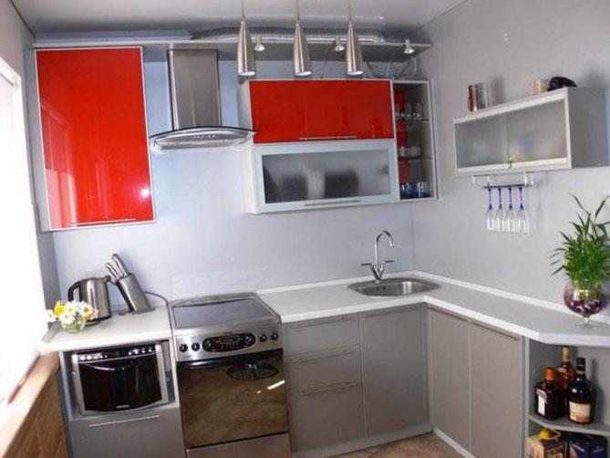 Дизайн кухни маленокого размера 4