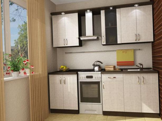 Дизайн кухни маленокого размера 5