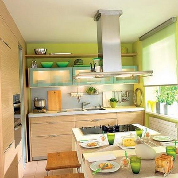 Обустройство маленькой кухни 5