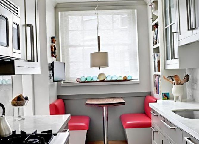 фото интерьер маленькой кухни фото