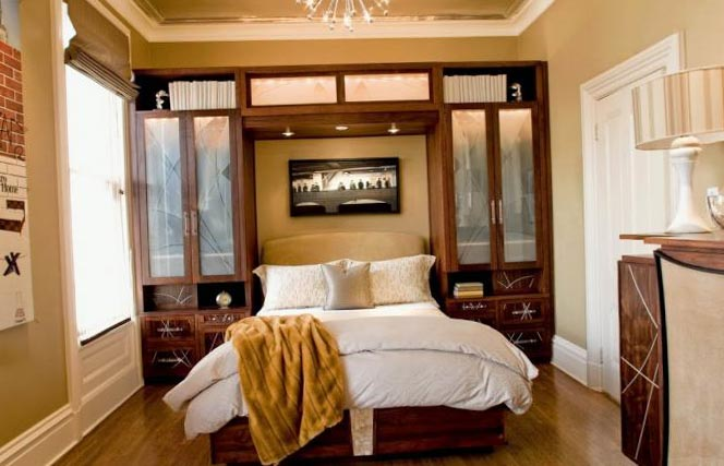 Фото интерьера спальни 12 кв.м в различных стилях