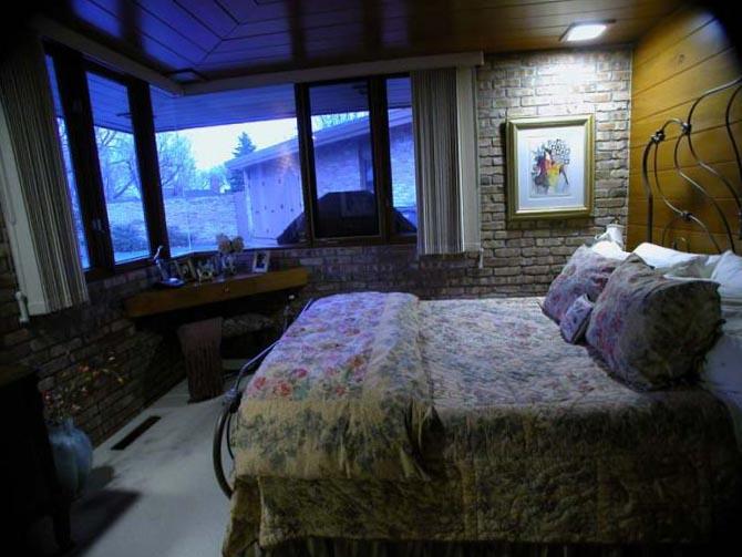 Фото спальной комнаты в частном доме