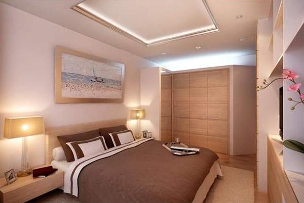 Дизайн маленькой спальни 25
