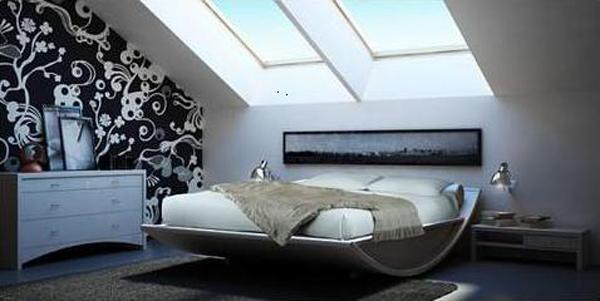 Дизайн маленькой спальни 23
