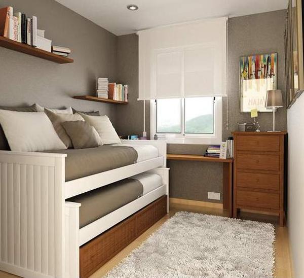 Дизайн маленькой спальни 24
