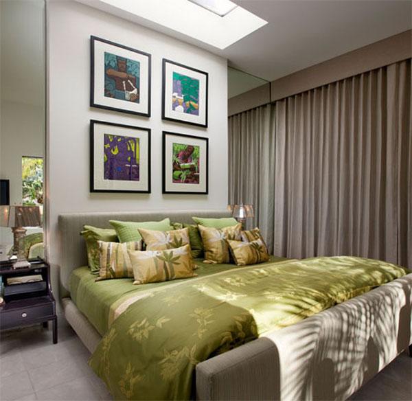 Интерьер спальни маленького размера - фото 4