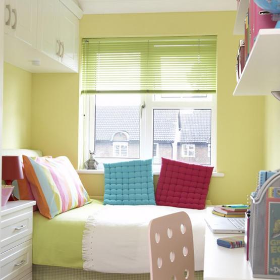 Интерьер спальни маленького размера - фото 5