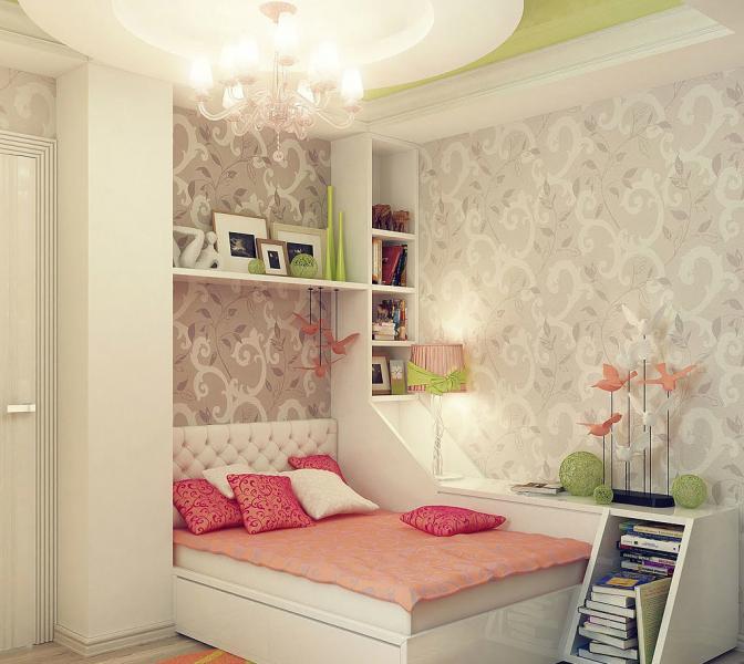Дизайн маленькой спальни - фото 5