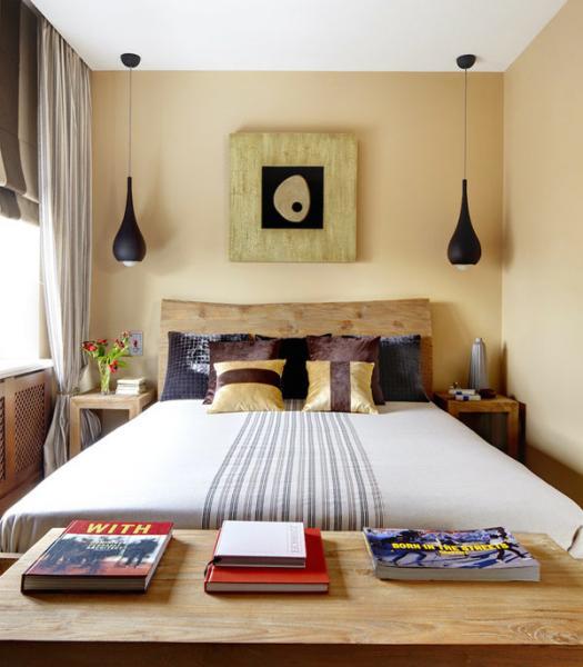 Дизайн маленькой спальни - фото 7