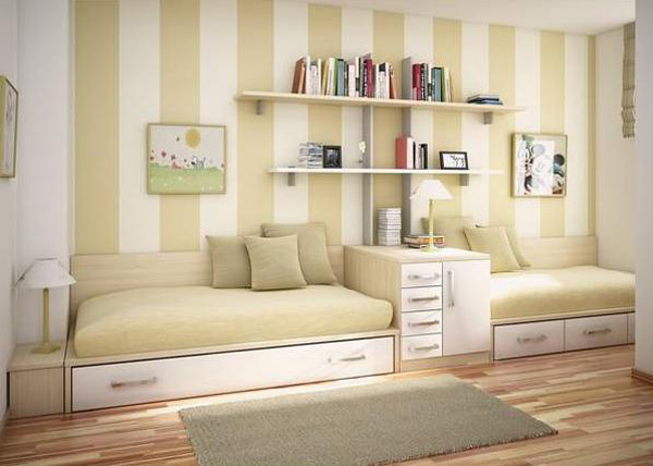 Какую мебель выбрать для спальни маленького размера 4
