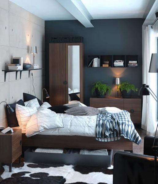 Дизайн маленькой спальни - фото 8