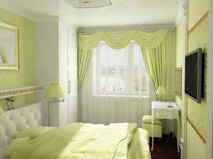 Дизайн маленькой спальни - фото 12