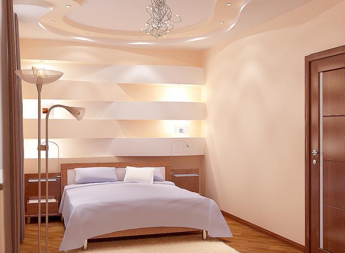 Дизайн маленькой спальни - фото 13