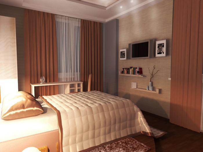 Фото дизайна маленькой спальни