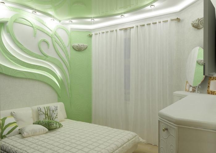 Дизайн спальни маленького размера 3