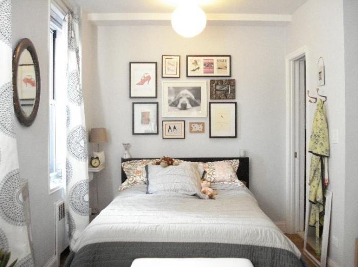Дизайн спальни маленького размера 5
