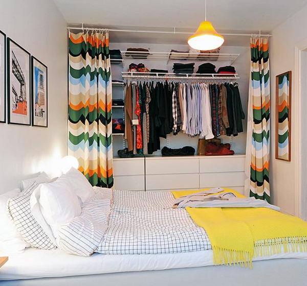 Дизайн спальни маленького размера 10