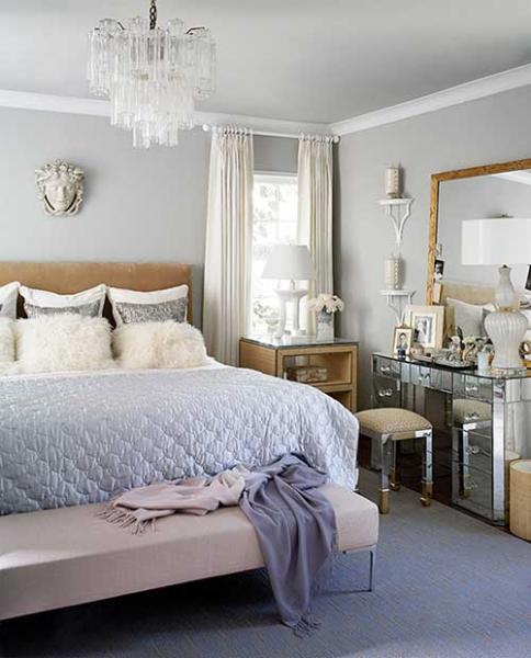 Как обставить небольшую спальню - фото 3