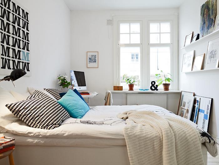 Как обставить небольшую спальню - фото 5