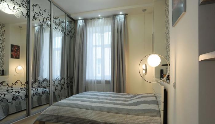 Какую мебель выбрать для спальни маленького размера 2