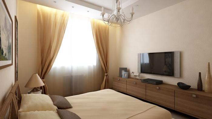 Как обставить небольшую спальню - фото 7