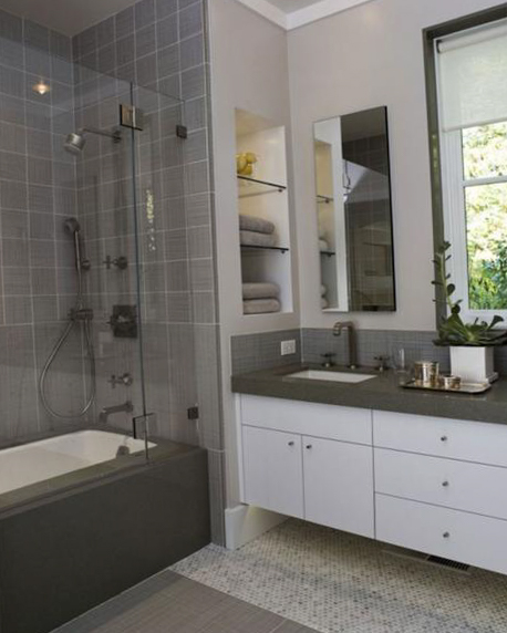 Small bathroom furniture design
