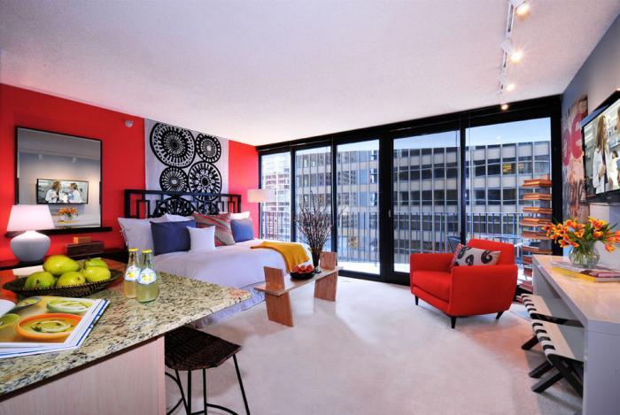 дизайн однокомнатной квартиры 11