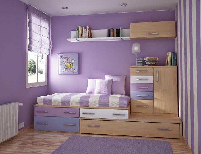 дизайн однокомнатной квартиры для семьи с ребенком 3