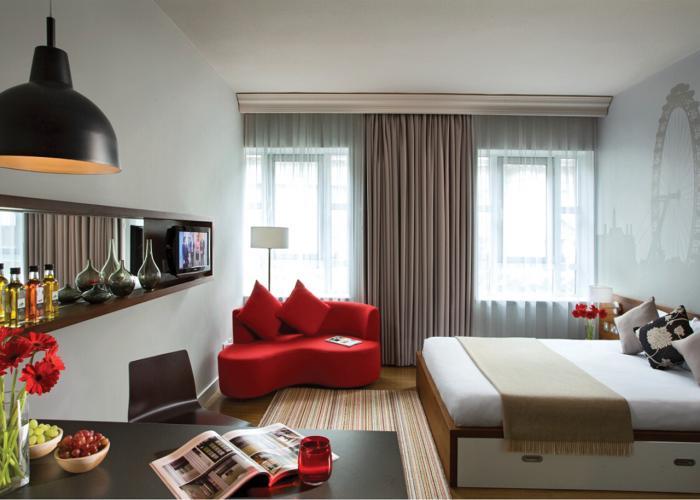 Однокомнатная квартира - интерьер 1