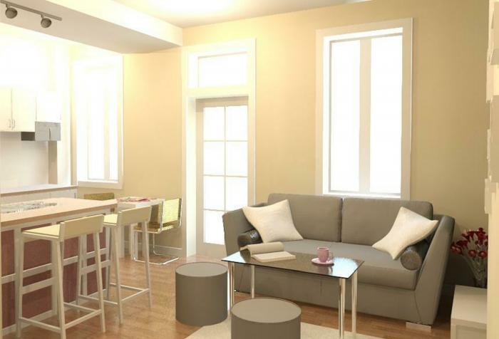 Однокомнатная квартира - интерьер 3