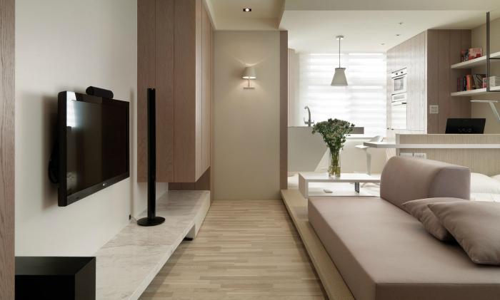 Однокомнатная квартира - интерьер 4