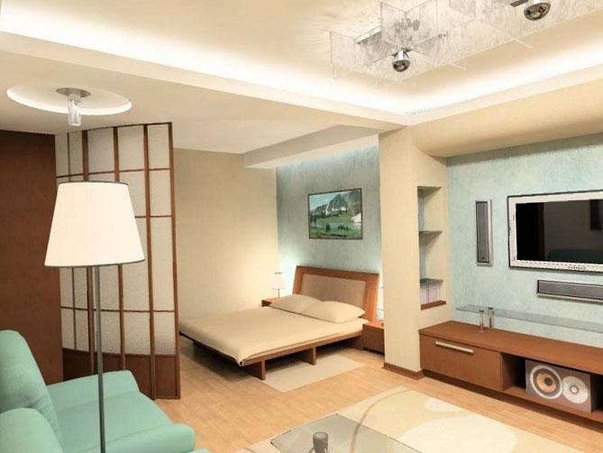 Однокомнатная квартира дизайн 10